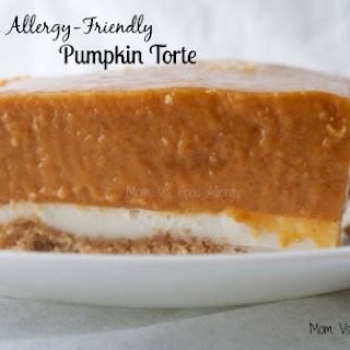 Allergy-Friendly Pumpkin Torte