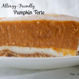 Allergy-Friendly Pumpkin Torte Recipe