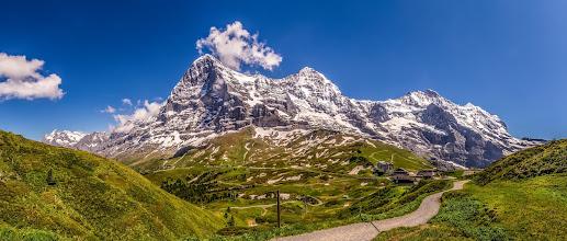Photo: #Schweitz  - #Switzerland  #Eiger the #Northface  - #Mönch - #Jungfrau  It was impressive to be there !