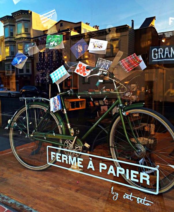 The store front of Ferme A Papier.