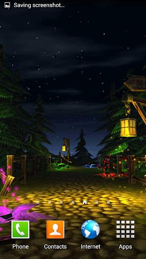 3D Magic forest live Wallpaper