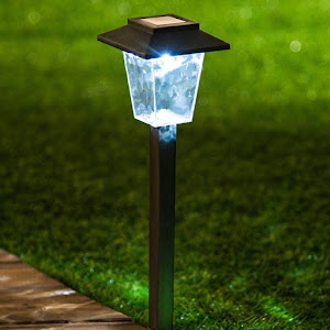 Set 5 lampi solare tip felinar, inaltime 30 cm
