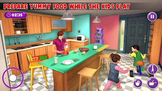 Virtual Mother New Baby Twins Family Simulator Screenshot