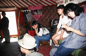 Photo: 03130 ウランバートル/牧民の家/ゲル内部
