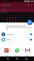 Screenshot of Runtastic Heart Rate Monitor