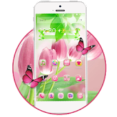 Pink Tulips Launcher