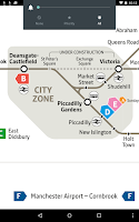 Screenshot of Manchester Metrolink