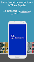 Screenshot of SocialDrive