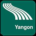 Karte von Yangon offline