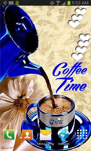 Coffee Time Live Wallpaper