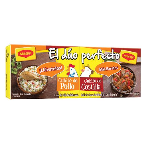 Cubito Maggi Caldo Pollo   + Costilla 16Und