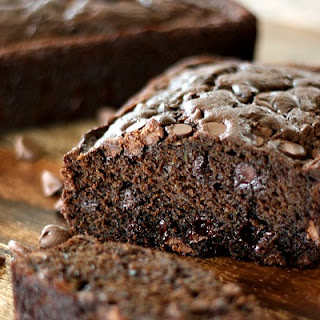 Chocolate-Chocolate Chip Zucchini Bread