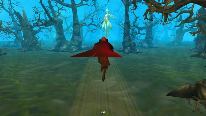 Скриншот Зеленый Ведьма вампир Хэллоуин