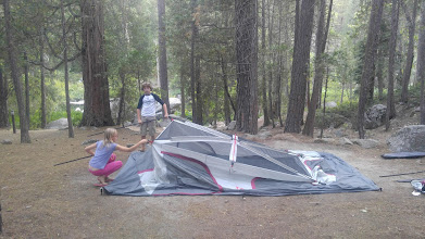Photo: The kids put the tent up by themselves!