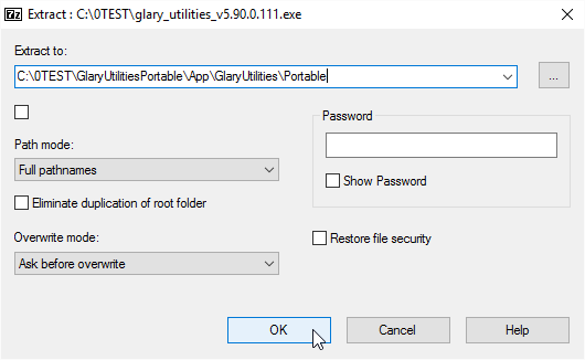 Extract to App\GlaryUtilities\Portable