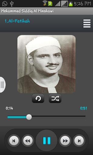 Mohammed Siddiq Al Minshawi