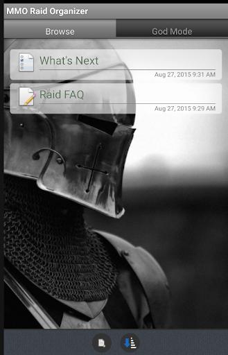 MMO Raid Organizer