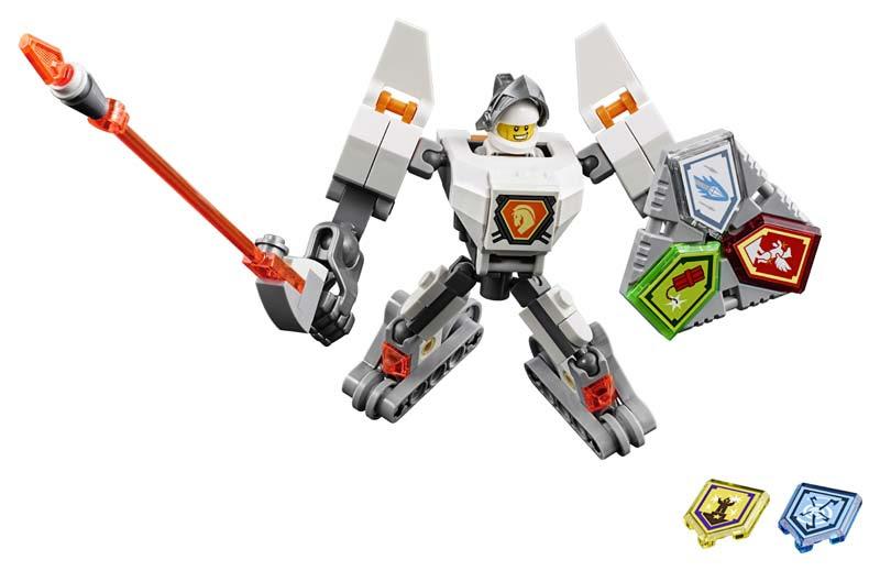 Contenido de Lego® 70366 Lance con Armadura de Combate