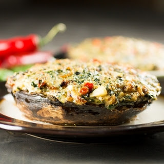 Spicy Stuffed Portobello Mushrooms