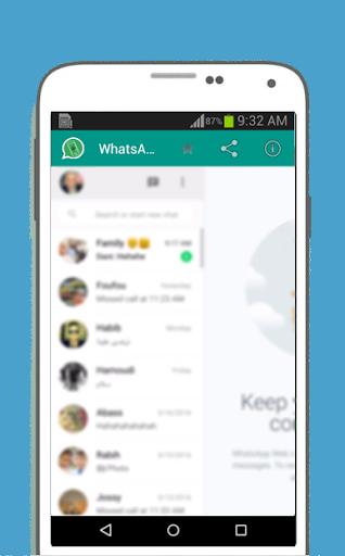 WhatsWeb For WhatsApp screenshot 3