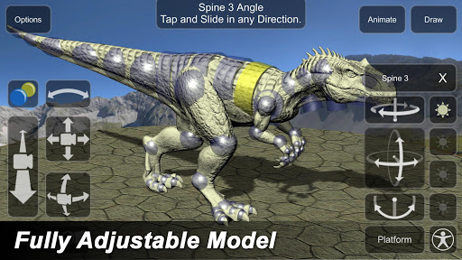 Allosaurus Mannequin 1.0 screenshots 1
