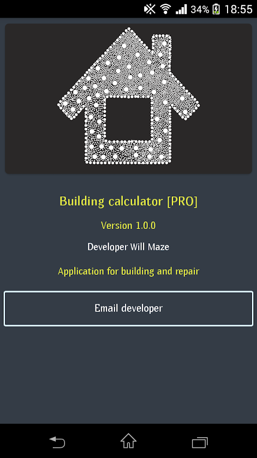 Building calculator pro android apps on google play for House build calculator