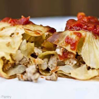Clean Eating Cabbage Rolls.