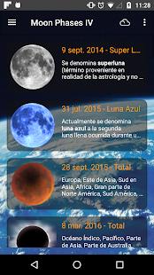 Moon Phases Pro Screenshot