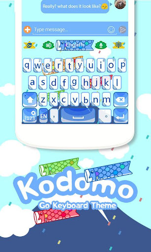 Kodomo Keyboard Theme Emoji