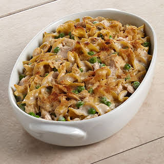Mom's Favorite Tuna Noodle Casserole.