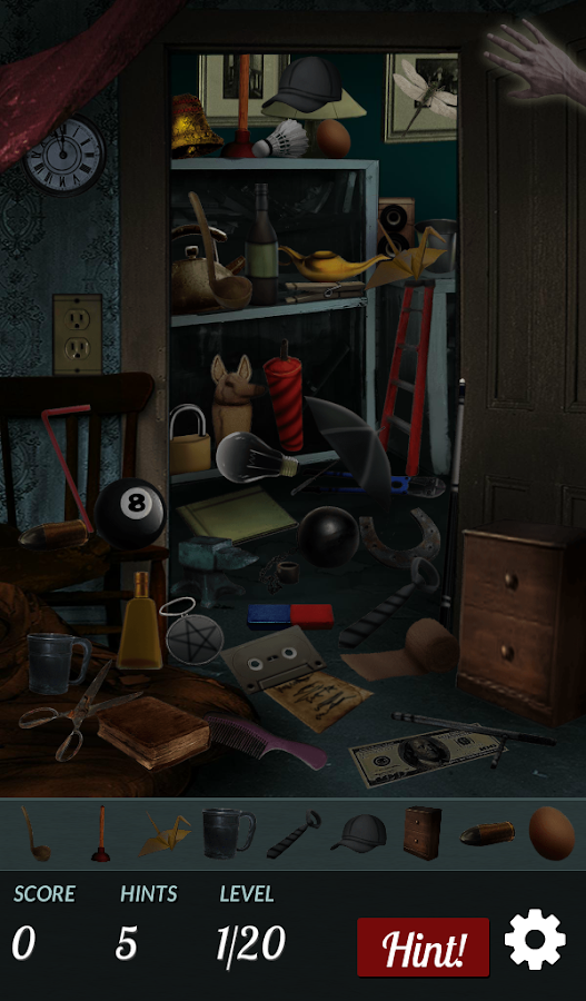 Hidden Object - Haunted House- screenshot