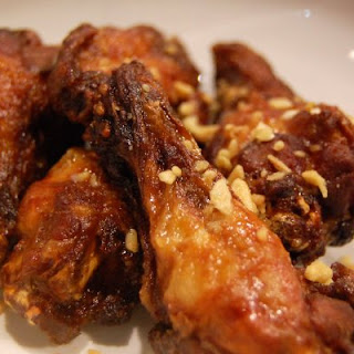 Thai Peanut Chicken Wings