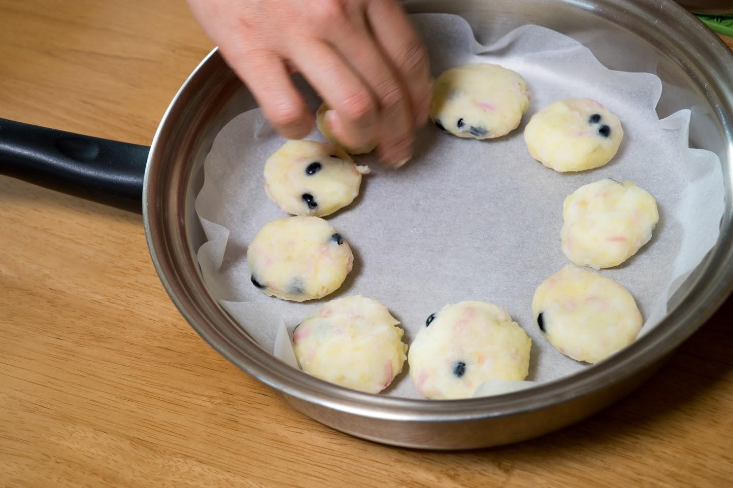 黒千石レシピ:4−1.フライパンで焼く