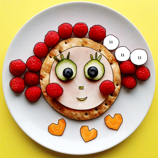 Food Craft - Color by Number, Cooking Puzzle Game Icon