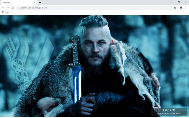Vikings New Tab & Wallpapers Collection