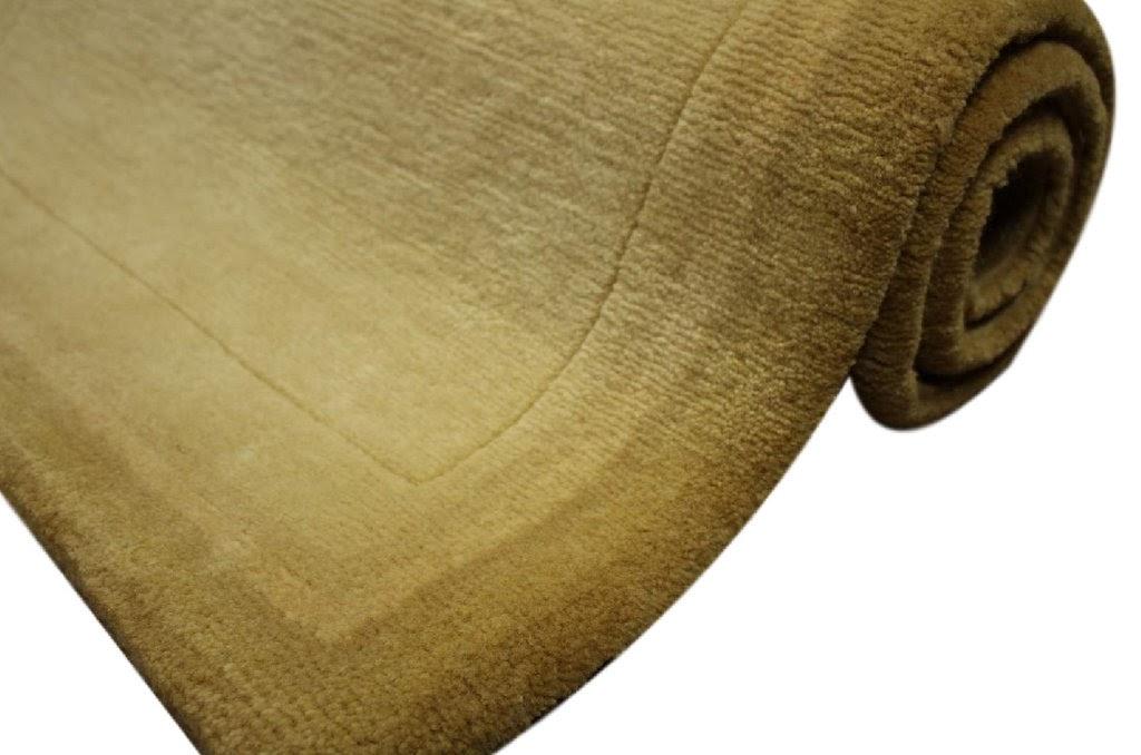 dywan tybet 100% wełna 70x140cm beżowy ekskluzywny