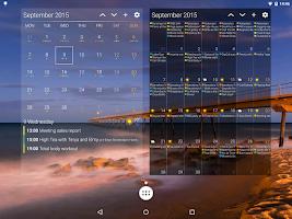 Screenshot of DigiCal+ Calendar