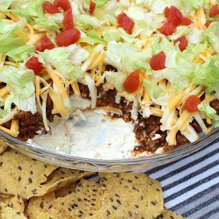 Taco Dip Cream Cheese Sour Cream Recipes.