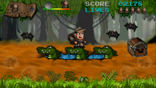 Retro Pitfall Challenge apkpoly screenshots 4