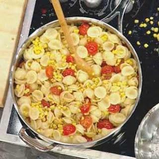 Orecchiette with Tomatoes and Corn