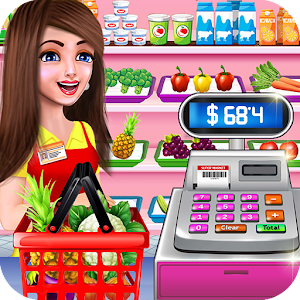 Supermarket Shopping Cash Register Cashier Games for PC