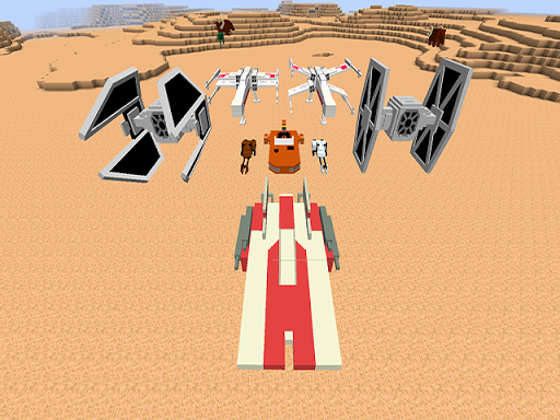 Mod Star for mcpe wars