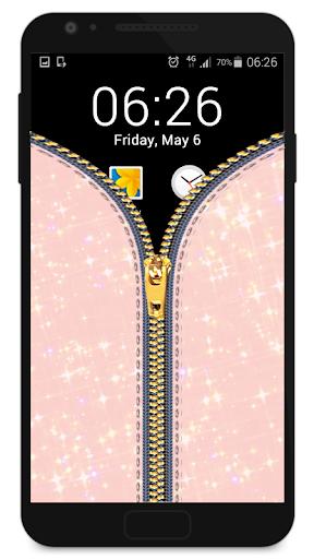 玩休閒App|拉链锁屏 - 女孩免費|APP試玩