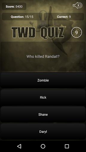 Quiz for The Walking Dead  screenshots EasyGameCheats.pro 2