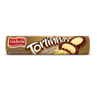 galletas isabela tortinhas chocolate blanco 160gr