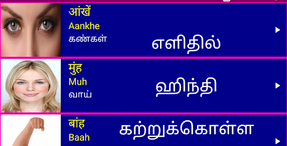 Learn Hindi from Tamil 14