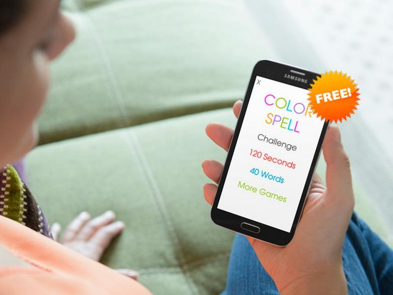 color spelling game free screenshot - Color Games Free