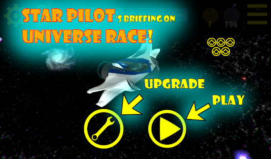Universe Race: Star Pilot FREE- screenshot thumbnail