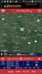 ABC 17 Stormtrack Weather App screenshot 0