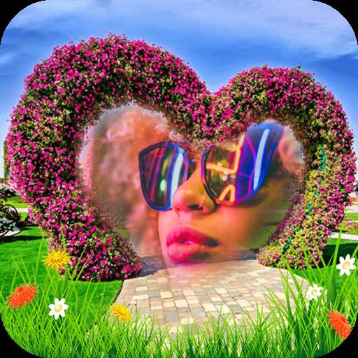 Garden Frames for Pictures & Wallpaper Maker App Icon
